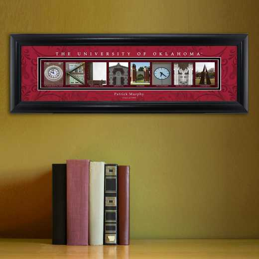 GC1068 OKLAHOMA: PERSONALIZED ARCHITECTURAL ART, OKLAHOMA
